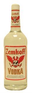 Zemkoff Vodka 1.00l - Case of 12